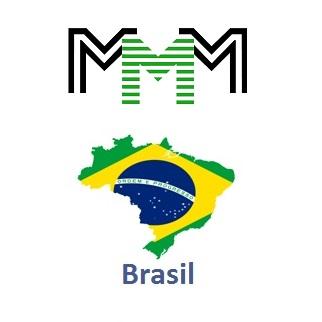 MMM Brasil logo welcome