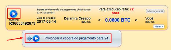 mmm brasil quero receber ajuda informacao prolongar a espera do pagamento para 24
