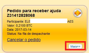 mmm brasil quero receber ajuda pedido para receber ajuda número