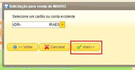 mmm brasil quero receber ajuda selecionar cartão ou conta venda de mavro