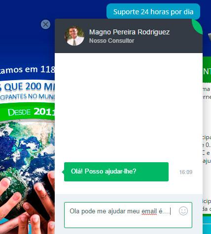 mmm brasil quero receber ajuda suporte após confirmado